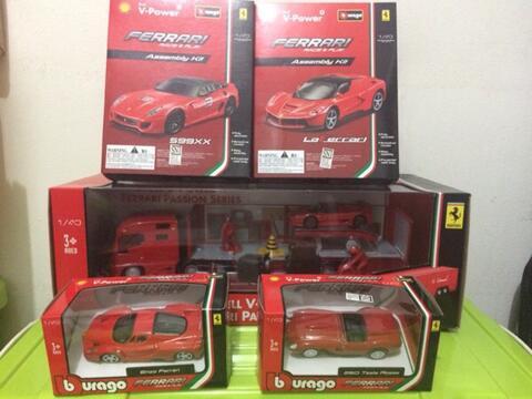 Shell Burago Ferrari