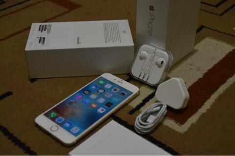 iPhone 6 Gold 128GB Lengkap Singapore warranty Bandung