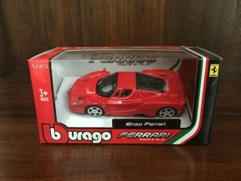 Shell Ferrari Enzo Burago