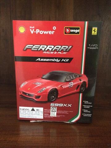 Shell Ferrari 599XX Burago