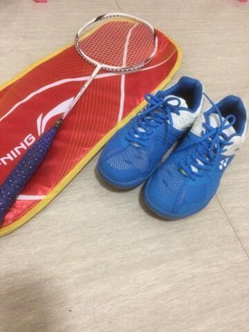 Terjual Paketan Perlengkapan Badminton Bulu Tangkis Murah Kaskus