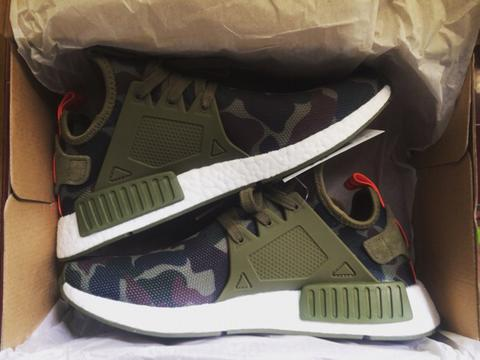 promo code 58a2b 146bc Adidas Originals NMD XR1 Duck Camo Olive Cargo Green