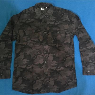 Uniqlo Black Camo Long Shirt