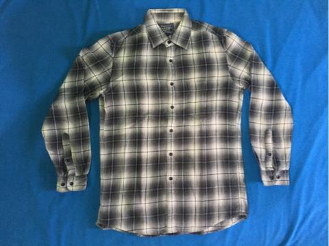 Uniqlo Black White Flanel