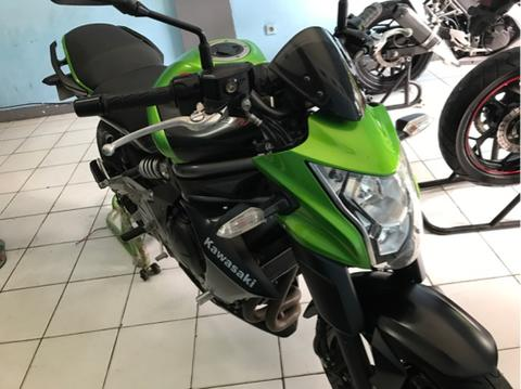 kawasaki ninja er6n green top condition