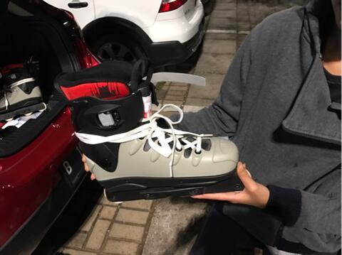 sepatu roda / inline skate R & B type agre