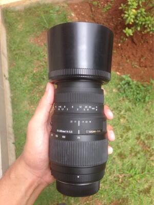 Lensa Sigma 70-300mm F4-5.6 DG Macro