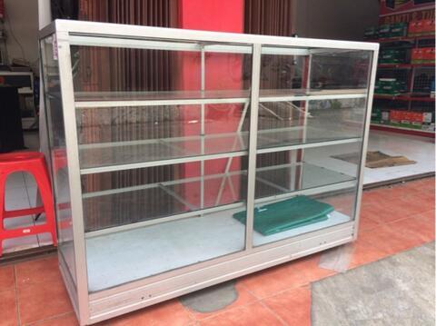 Etalase Kaca 1.5 x 0.5 x 1m siap pakai Malang Kota