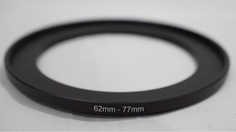 Step Up Filter Ring Adapter 62mm - 77mm / Stepup 62 - 77