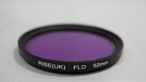 Lens Filter - Rise (UK) FLD 52mm Full Purple Color Gel Filter