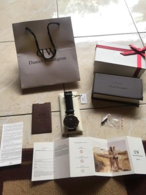 JAM DANIEL WELLINGTON CLASSIC BLACK 40MM ORIGINAL