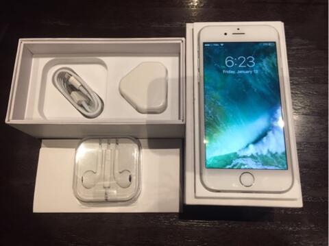 Iphone 6 16GB FU Silver Fullset No Minus Garansi Internasional