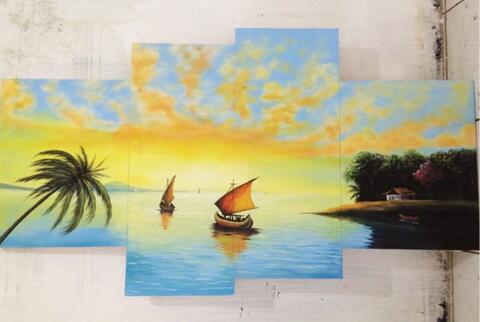 jual lukisan panel