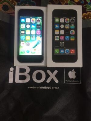 iphone 5s 16gb eks garansi resmi ibox