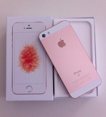 iphone se rosegold 16gb garansi resmi
