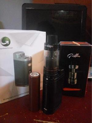 WTS Vaporizer iStick Pico + RTA Griffin + Battery LG