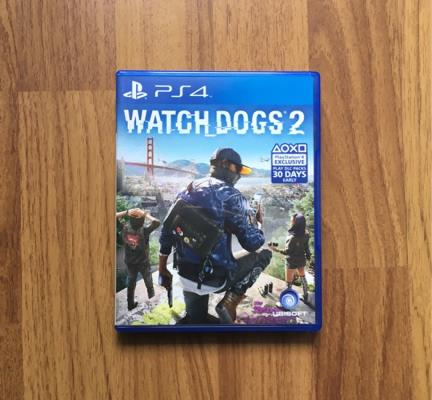 BD PS4 Watchdog 2 2nd