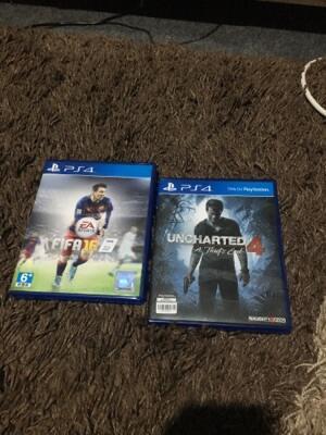 WTS BD PS4 Uncharted 4 & Fifa 16