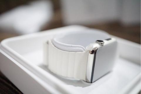 Apple Watch Stainless Steel 42mm BRAND NEW! leather loop
