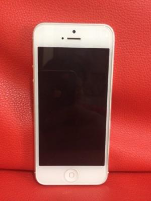 iPhone 5 Silver 32GB 2nd Ex Resmi iBox