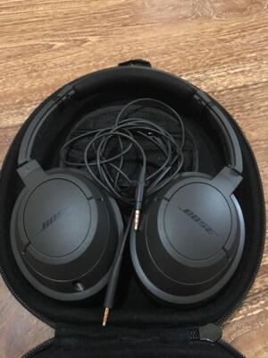 headphone bose soundtrue black original
