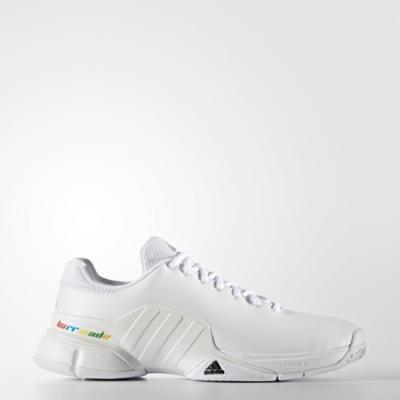 Adidas Barricade Adicolour Tennis Shoes White Original