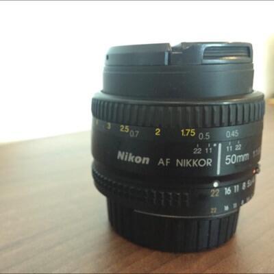 Lensa Nikon Nikkor 50mm f1.8 AF D