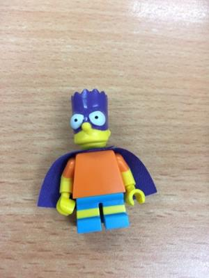 Bart Simpson Lego Minifigures