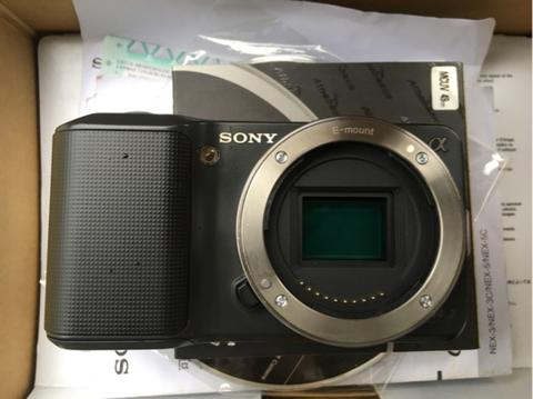 Kamera Mirrorless Sony Nex 3 Body Only Lengkap