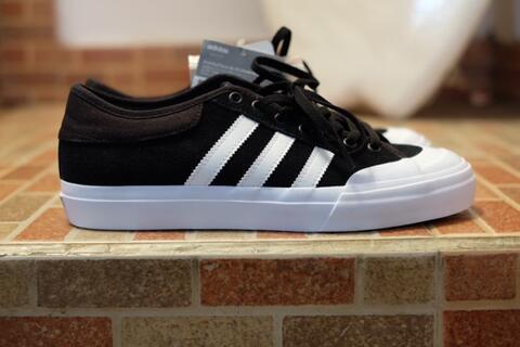 Adidas Skateboarding Matchcourt Adv Low Black/White