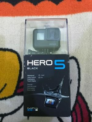 GOPRO HERO 5 BLACK BNIB. 4 jutaan surabaya