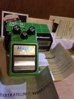 [OverDrive] Maxon OD 9 Overdrive Made in Japan