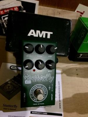 [Delay] AMT Stutterfly Delay Made in Rusia