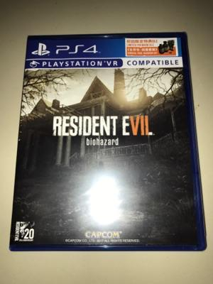 PS4 Resident Evil 7 Biohazard / Reg 3 / Sekali Main