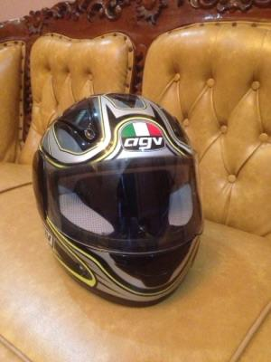 Helm Fullface AGV Original Like New Murah
