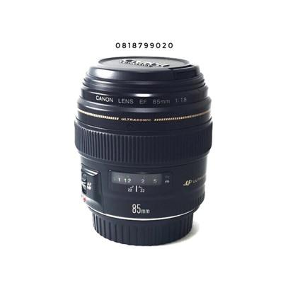 CANON LENS 85 MM f/1.8 LIKE NEW