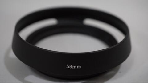 Metal Hood Lens Universal 58 mm 58mm