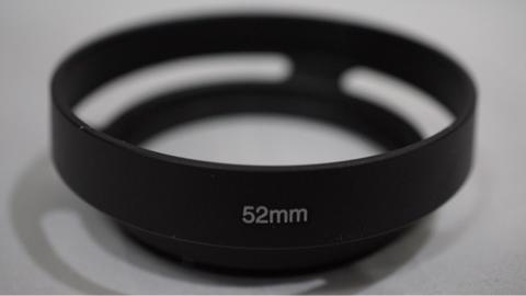 Metal Hood Lens Universal 52 mm 52mm