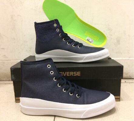 Sepatu Converse As Quantum Hi Obsydian White Blod Lime Navy