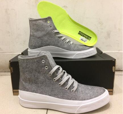 Sepatu Converse As Quantum Hi Ash Grey White Volt