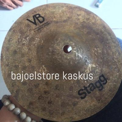 JUAL CYMBAL SPLASH MERK STAGG VB VINTAGE UKURAN 8 INCH MULUS LIKE NEW