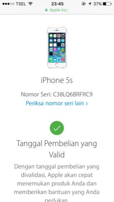 Dijual Cepat Iphone 5 White 64GB Fullset 4G LTE