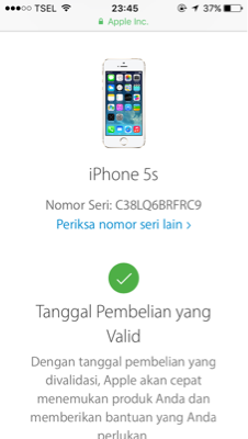 Dijual Cepat Iphone 5s Gold 16GB FU ORI Fullset