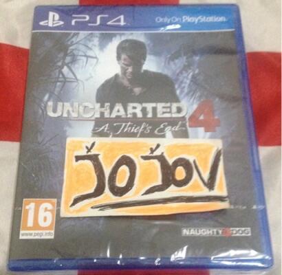 BD PS4 Uncharted 4 NEWSEGEL MURAH!