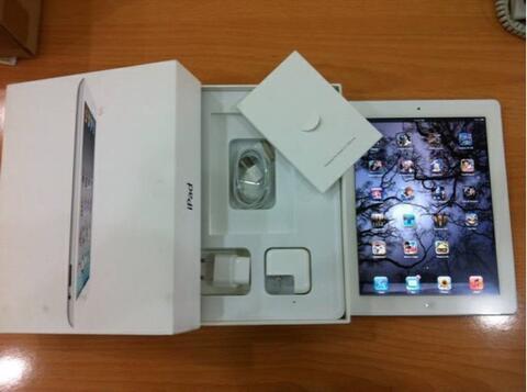 iPad 3 Jailbreak 4G+64GB Retina Display|WHITE | mulus FULLSET Balikpapan