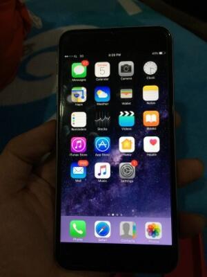 Terjual iphone 6 plus   6+ 64gb grey garansi resmi 100% mulus murah ... 05d68aac0a