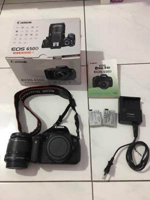 Canon EOS 650D + kit 18-55 - Datascrip