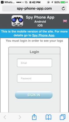 Langganan Spy Phone App
