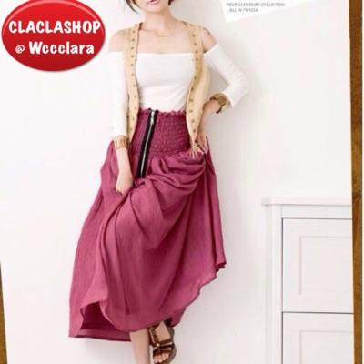 Terjual Rok Panjang Busana Muslim Wanita Casual Skirt Rok Cewek Rok Fashion Perempuan Kaskus
