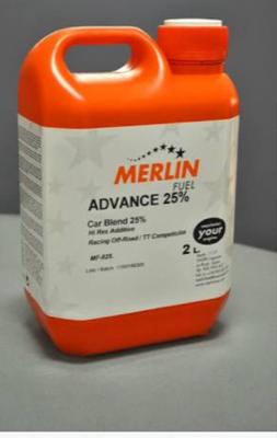 Nitro fuel merk merlin 25% literan